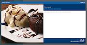 Simphony menu item details