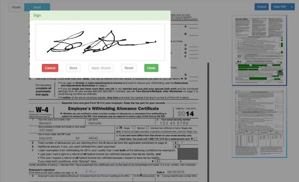 Xenqu digital signature