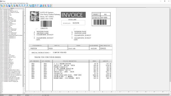 MarkMagic create custom invoices