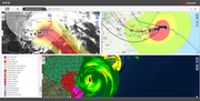 WebEOC hurricane dashboard