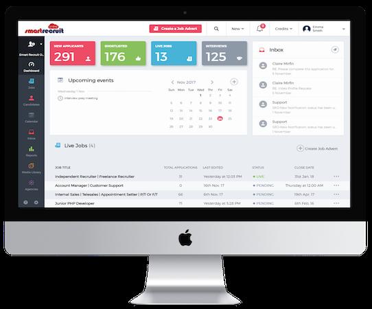 Smart Recruit Online - Dashboard