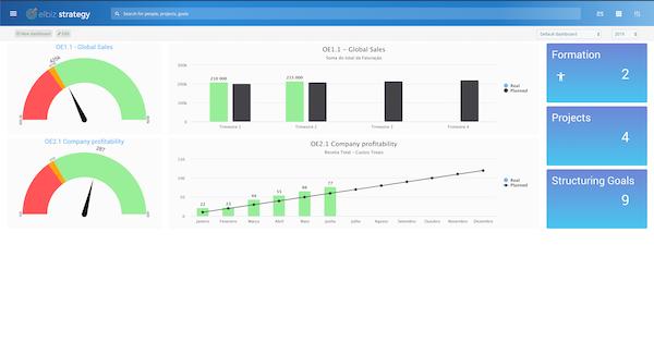 Elbiz Strategy reports screenshot