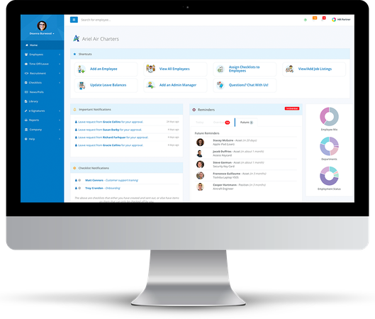 HR Partner Dashboard