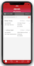 Mobile dashboard view