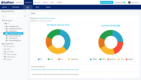 SailPoint data access management