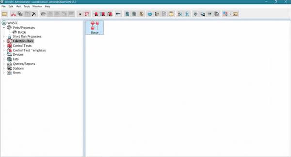 WinSPC data capture screenshot