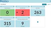 DataServ dashboard