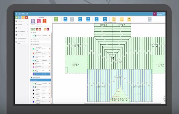 Square Takeoff digital blueprint screenshot