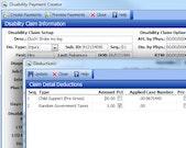 Virtual Benefits Administrator disability claim screenshot.
