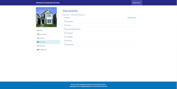 EmpoweredHOA document management
