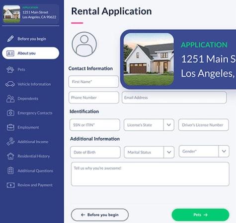 DoorLoop rental application
