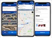 Driver app screen
