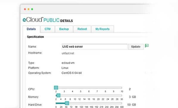 eCloud public details