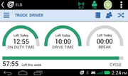 Eld driver screen
