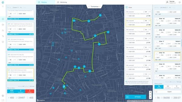 eLogii route optimization