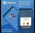 ELVI secure smartphone messaging
