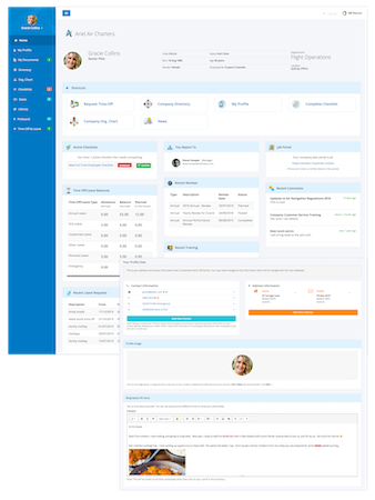 HR Partner Employee Portal