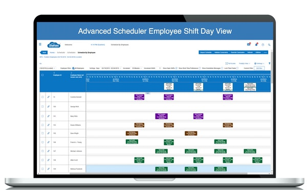 OnePoint HCM employee scheduling