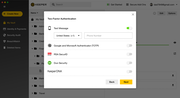 Enhanced Two-Factor Authentication