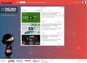 Engagez custom webpage