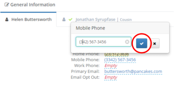 Enquire CRM add prospects screenshot