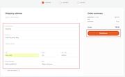 Quartzy for adding shipping details