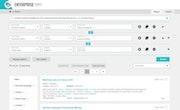 TAS Enterprise Search searches screenshot