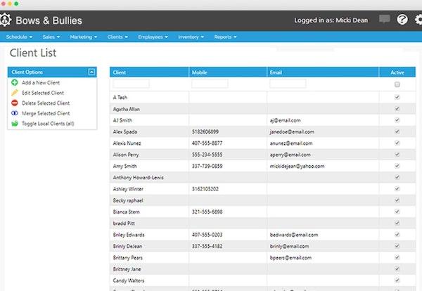 Envision Paws client list