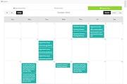 Instancy events calendar