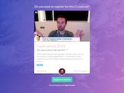Crowdcast event registration