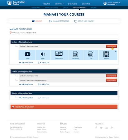 Examination Online Courses
