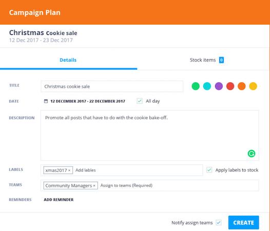 Falcon.io campaign planner