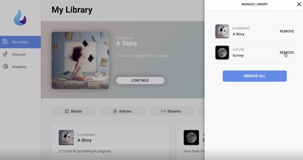 Falkor manage library