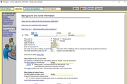 Family Law Software client details screenshot