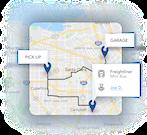 CoachRail Map
