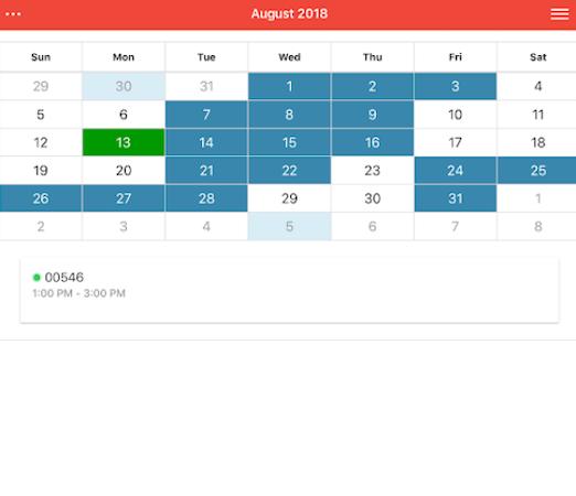 Fieldmagic calendar