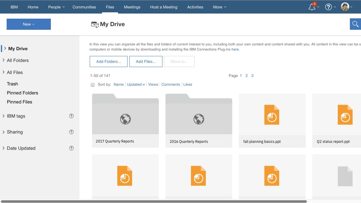 File sync and share