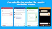 Provide Support file transfer screenshot