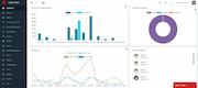 Infinite MLM financial dashboard