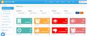 FinClock attendance dashboard screenshot