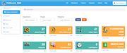 FinClock project management screenshot