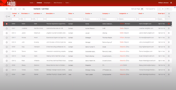 FIREBusinessPlatform contacts