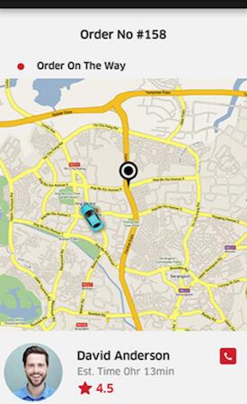 Elluminati E-Delivery location tracking