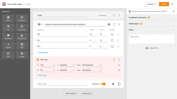 Create and Customize Forms using Form Builder