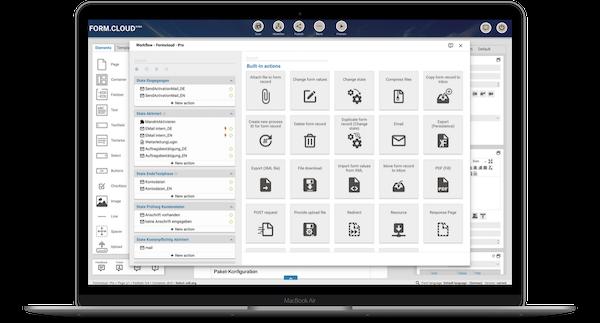 Workflow Screen