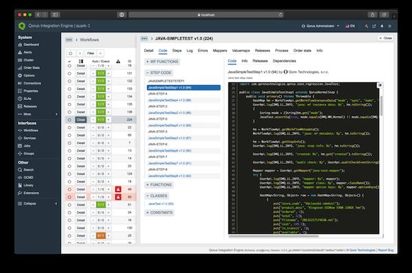Qorus Java Coding
