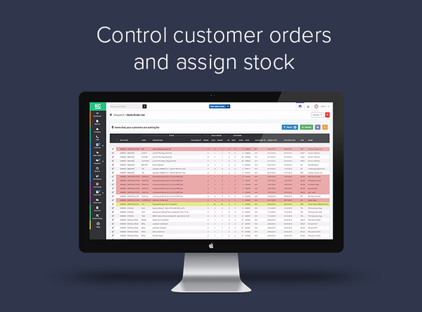Khaos Control Cloud - Customer order management