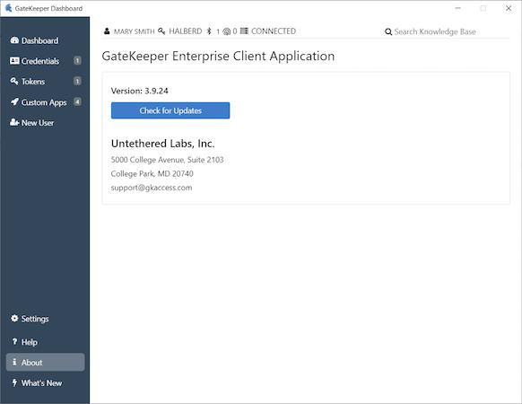 GateKeeper Enterprise system updates