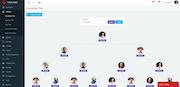 Infinite MLM genealogy tree