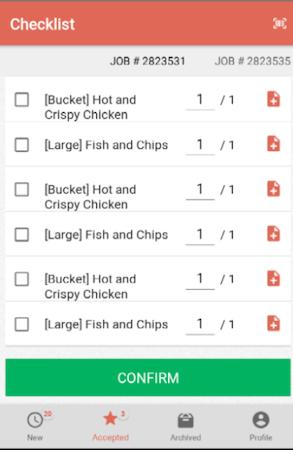 GetSwift driver checklist